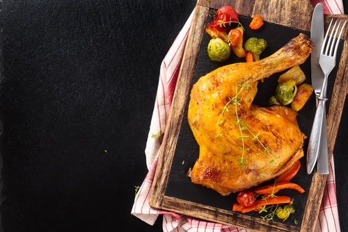 Chicken Confit in Olive Oil